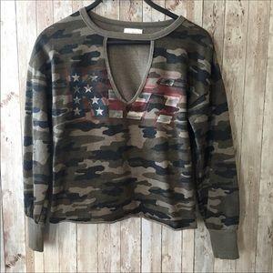 Lucky Brand KISS sweatshirt